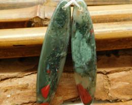 Creek jasper earrings (G3106)