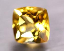 6.03Ct Natural Yellow Citrine Octagon Cut Lot B4279