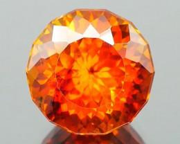 Bright Vivid Orange Spanish Sphalerite 7.98Ct.
