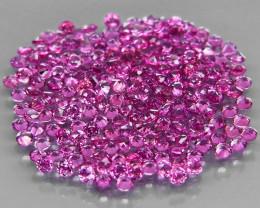 200Pcs/3.01 Ct.Diamond Cut 1.4 mm.Ravishing! Pink Purple Rhodolite Garnet