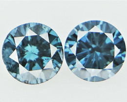 2/0.15 cts , Natural Round Diamond , Sparkling Natural Diamonds for Jewelry