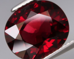 6.46  Ct.100% Natural Earth Mined Top Quality Red Rhodolite Garnet