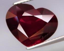 8.14 Ct.100% Natural Earth Mined  Red Rhodolite Garnet Africa