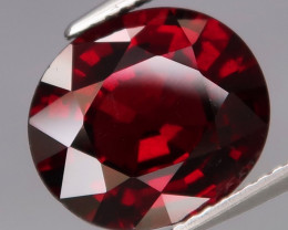 6.88  Ct.100% Natural Earth MinedRed Rhodolite Garnet Africa
