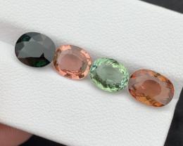 Top Grade 6.38 carats  Natural Tourmaline Gemstones beautiful parcel