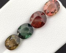 Top Grade 6.92 Carats Natural Tourmaline Gemstones beautiful parcel