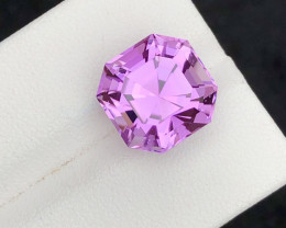 Perfect Asher cut 10.00 Carat Natural Kunzite  From Afghanistan