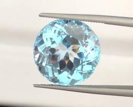 AAA Color & Cut 12.10 carats, Natural Blue Topaz