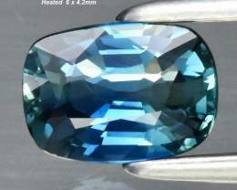 0.7ct VS Sapphire - Australia / Heated /  6.0 x 4.2mm