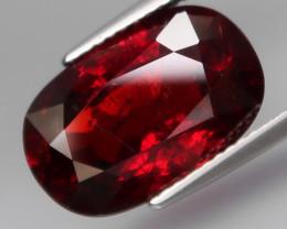 10.88Ct.Outstanding Color! Natural BIG Red Spessartite Garnet Africa