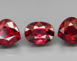 5.29 ct. Natural Earth Mined Unheated Cherry Pink Rhodolite Garnet Africa