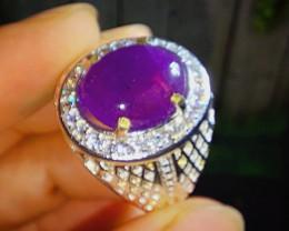 55.35 CT Beautiful Royal Purple Amethyst Jewelry Stone