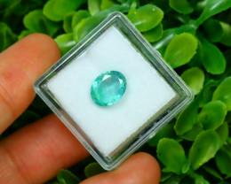 Panjshir 1.75Ct Oval Cut Natural Afghanistan Green Emerald SA173