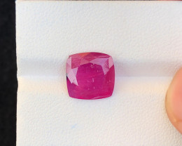 4.26 Ct Natural Red Transparent Ruby Gemstone