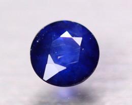 1.12ct Natural Ceylon Blue Sapphire Round Cut Lot V8255