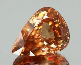 Beautiful Peach Orange Natural Zircon 15.35Ct.