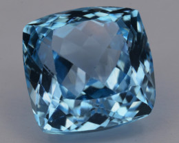 9.51 Cts AAA Natural Blue Topaz Top Color Gemstone
