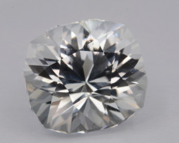 Natural White Topaz 6.50 Cts, Precision Cut, Top Luster