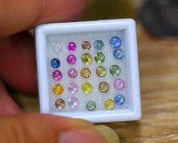 4.46ct Natural Fancy Color Sapphire Cabochon Lot GW9395