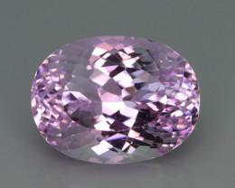 Top Grade & Cut 15.25 ct Light Pink Kunzite