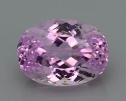 Top Grade & Cut 14.05 ct Light Pink Kunzite