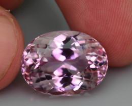 Top Grade & Cut 13.30 ct Light Pink Kunzite