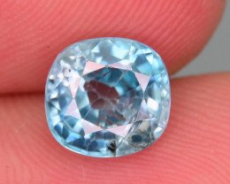 AAA Brilliance 2.60 ct Blue Zircon Cambodia ~ K