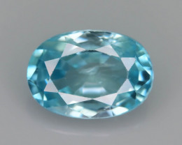 AAA Brilliance 2.35 ct Blue Zircon Cambodia ~ K