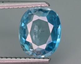 AAA Brilliance 2.80 ct Blue Zircon Cambodia ~ K