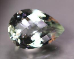 11.02ct Natural Green Prasiolite Pear Cut Lot LZ9349