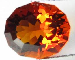 3.77Cts Genuine Natural Citrine Oval Custom Cut Loose Gemstone