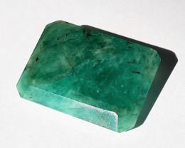41.19 ct - Natural Brazilian emerald –  ( Emerald Cut)