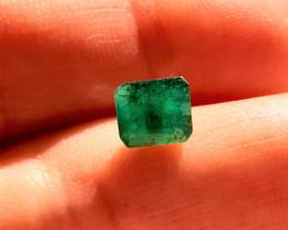 1.57 -  Natural Brazilian emerald – Emerald Cut