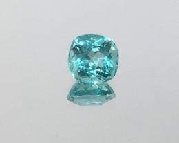 1.46 CARAT APATITE NEON BLUE GREEN COLOR!