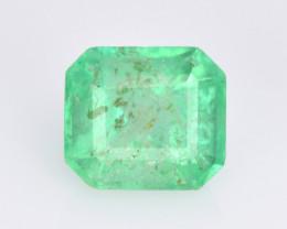 Colombian Emerald 0.84 Cts Vivid Green Color Natural
