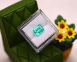 Muzo 2.32Ct Natural Vivid Green Colombian Muzo Emerald  DR628/D9