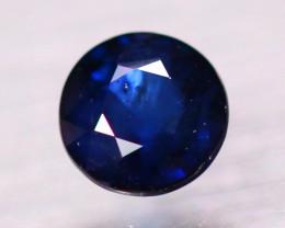 1.37ct Natural Blue Sapphire Round Cut Lot GW9415