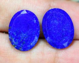 9.17ct Natural Lapis Lazuli Cabochon Lot GW9422