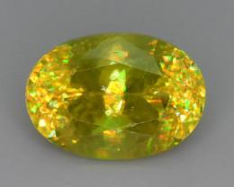PREMIUM NR~ Astonishing Fire 2.40 ct Sphene Sphene Sphene from Tazania Mine
