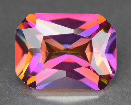 Azotic Topaz 2.69 Cts Multi Color Play Color Natural Gemstone