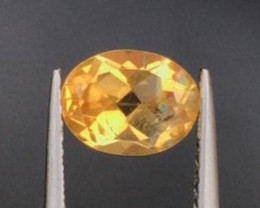 1.36 CT CITRINE GOLDEN YELLOW 100% NATURAL UNHEATED
