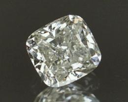 1.06cts ,  Fancy Shape Diamond , White Colored Diamond