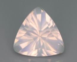 Rare Peach Pink 7.80  ct Feldspar Moonstone~Fancy Cut