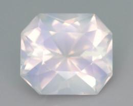 Rare Peach Pink 8.35 ct Feldspar Moonstone~Fancy Cut