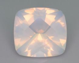 Rare Peach Pink 11.50 ct Feldspar Moonstone~Fancy Cut