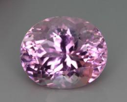 Top Grade & Cut 12.55 ct Light Pink Kunzite