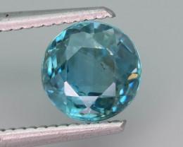 AAA Brilliance 2.95 ct Blue Zircon Cambodia ~ K