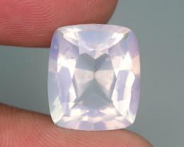 Rare Peach Pink 8.65 ct Feldspar Moonstone~Fancy Cut