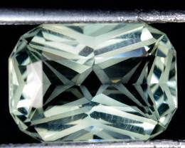 5.76 Cts Genuine 100% Natural Prasiolite Amethyst Cushion Custom Cut Gem