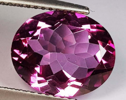 5.31 ct Top Quality Gem Oval Cut Natural Pink Topaz
